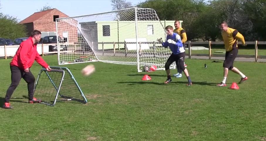 Soccer Goalkeeper Rebounder Drills