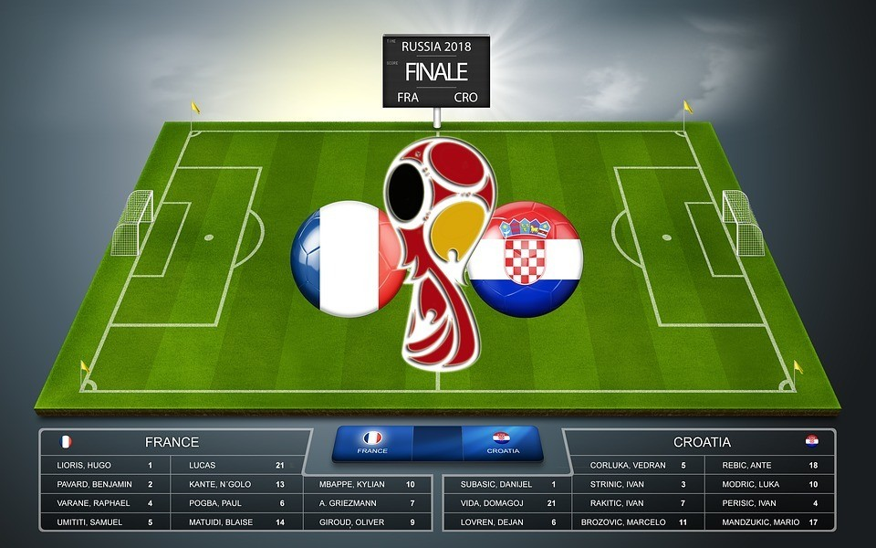 Classic Match – France 4-2 Croatia (World Cup Final 2018)